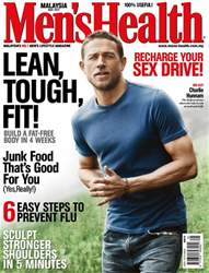 Men's Health Malaysia issue May 2017