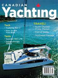 Canadian Yachting Magazine Cover
