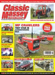 Classic Massey issue No. 68 MF Crawlers