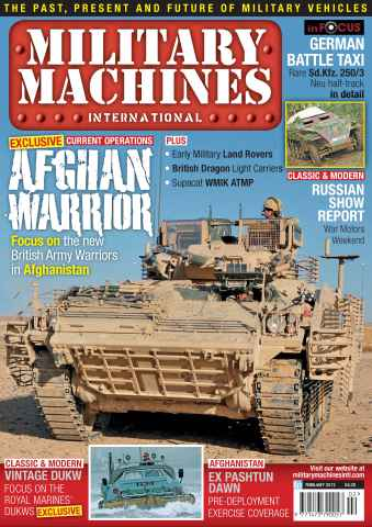 Military Machines International issue February 2012