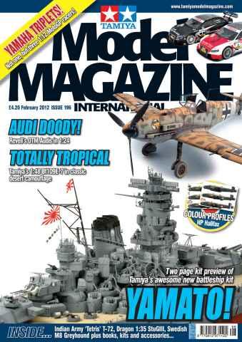 Tamiya Model Magazine issue 196