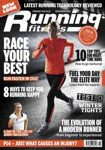 Running Fitness issue Your Best Race February 2012