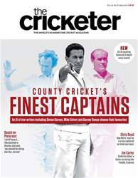 The Cricketer Magazine issue May 2017