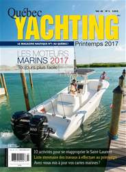 Quebec Yachting issue Printemps 2017