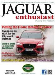 Jaguar Enthusiast issue Vol. 33 No. 5 The F-Pace