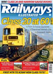 Railways Illustrated issue  June 2017