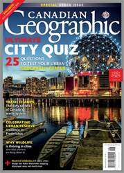 Canadian Geographic issue May/Jun 2017