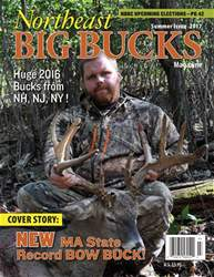 Northeast Big Bucks Magazine Cover