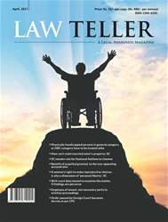 Lawteller – A Legal Awareness Magazine issue April 2017