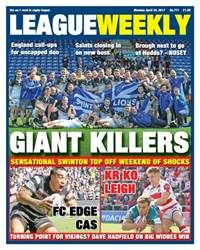 League Weekly issue 771