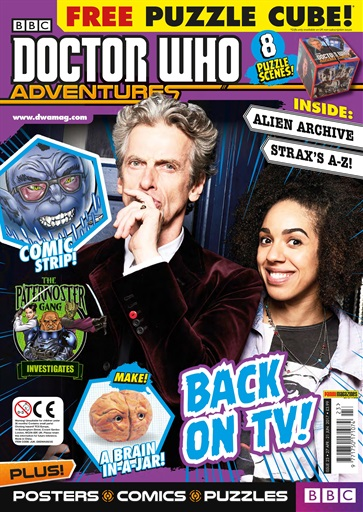 Doctor Who Adventures Magazine Preview