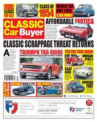 Classic Car Buyer issue No. 379 Classic Scrappage Threat Returns