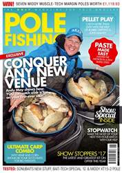 Pole Fishing issue June 2017