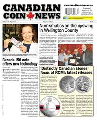 Canadian Coin News issue V55#03 - May 16