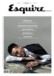 Esquire Singapore issue May 2017