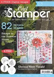 Craft Stamper issue June 2017