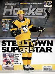 Beckett Hockey issue May 2017