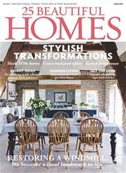 25 Beautiful Homes issue June 2017