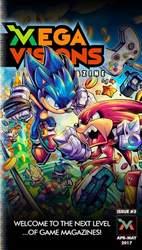 Mega Visions Magazine Magazine Cover