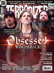 Terrorizer Magazine issue Terrorizer 281 - The Obsessed