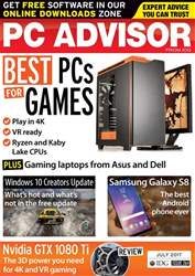PC Advisor issue July 2017