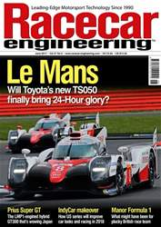 Racecar Engineering issue June 2017