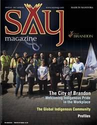 Say Magazine issue Say Magazine