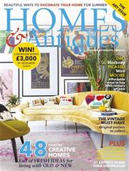 Homes & Antiques Magazine issue June 2017
