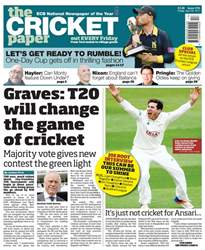 The Cricket Paper issue 28th April 2017