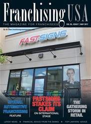 Franchising USA issue Franchising USA