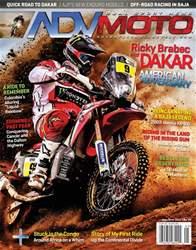 Adventure Motorcycle Magazine Cover