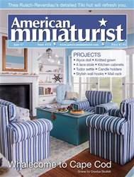 American Miniaturist issue June 2017