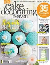 Cake Decorating Heaven issue Cake Decorating Heaven May/Jun