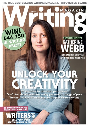 Writing Magazine issue June 2017