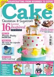 Cake Decoration & Sugarcraft Magazine issue June 2017