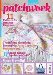 Popular Patchwork Magazine issue June 2017