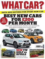 What Car Magazine issue June 2017