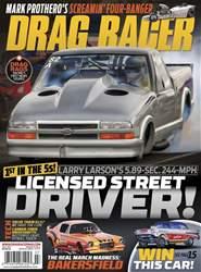 Drag Racer Magazine Cover