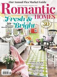 Romantic Homes issue Romantic Homes