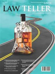 Lawteller – A Legal Awareness Magazine issue May 2017