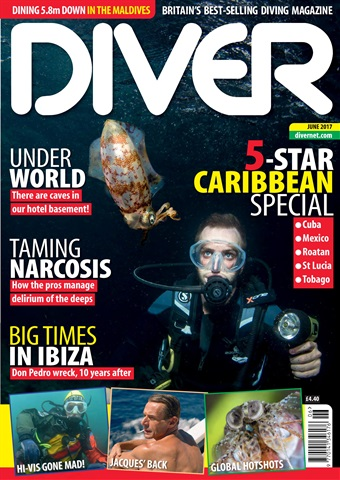 DIVER issue JUNE 2017