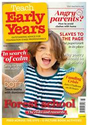 Teach Early Years issue Vol.7 No.3