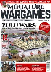 Miniature Wargames issue Issue 410 June 2017
