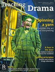 Teaching Drama issue Summer 2 2016/17