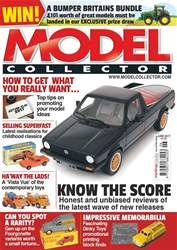 Model Collector issue June 2017