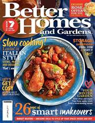 Better Homes and Gardens Australia issue July 2017