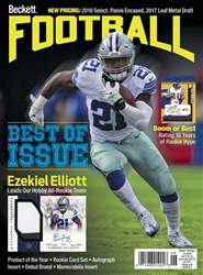 Beckett Football issue Beckett Football