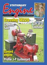 Stationary Engine issue No. 520 Crossley SE220
