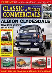 Classic & Vintage Commercials issue Vol. 22 No. 911 Albion Clydesdale