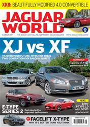 Jaguar World issue No. 185 XJ vs XF